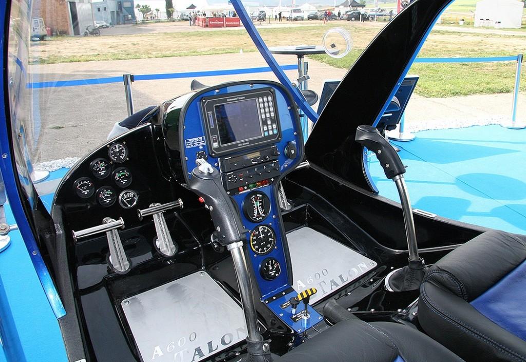 Talon cockpit
